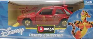 BURAGO-2210-DISNEY-COLLECTION-LANCIA-DELTA-S4-TIGRO-di-WTP-sc-1-24-ITALY