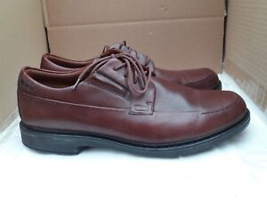 Image is loading CLARKS-ACTIVE-AIR-DREXLAR-TIME-MENS-BROWN-LEATHER-