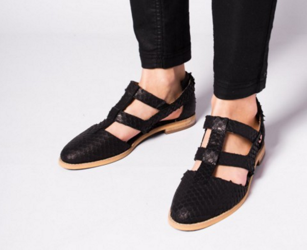 L37 Handmade Leather VERVE Elasticated Elasticated Elasticated Slip On shoes UK 3 EU 36 LG09 45 SALEs 1676e6