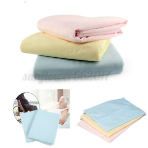 Washable-Reusable-Incontinence-Bed-Wetting-Mattress-Protector-Pad-Underpad-Sheet