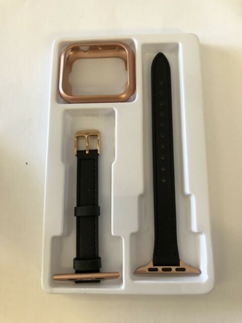 STIROLL Slim Leather Bands Compatible w/ Apple Watch Band 38 40 42 44mm #2