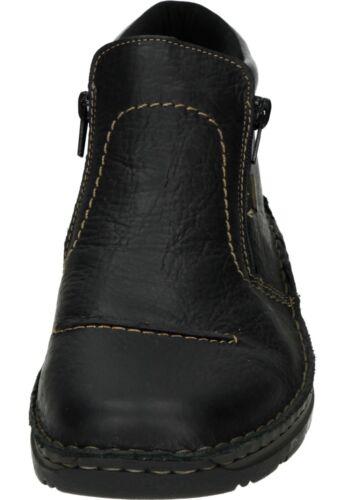 Rieker botas de invierno Zapatos botines botas negro 5372-00 40 - 46 neu4