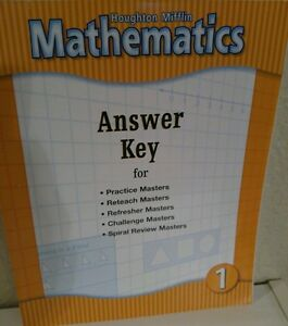 Houghton mifflin 1st grade 1 math mathematics answer key homeschool image is loading houghton mifflin 1st grade 1 math mathematics answer fandeluxe Images