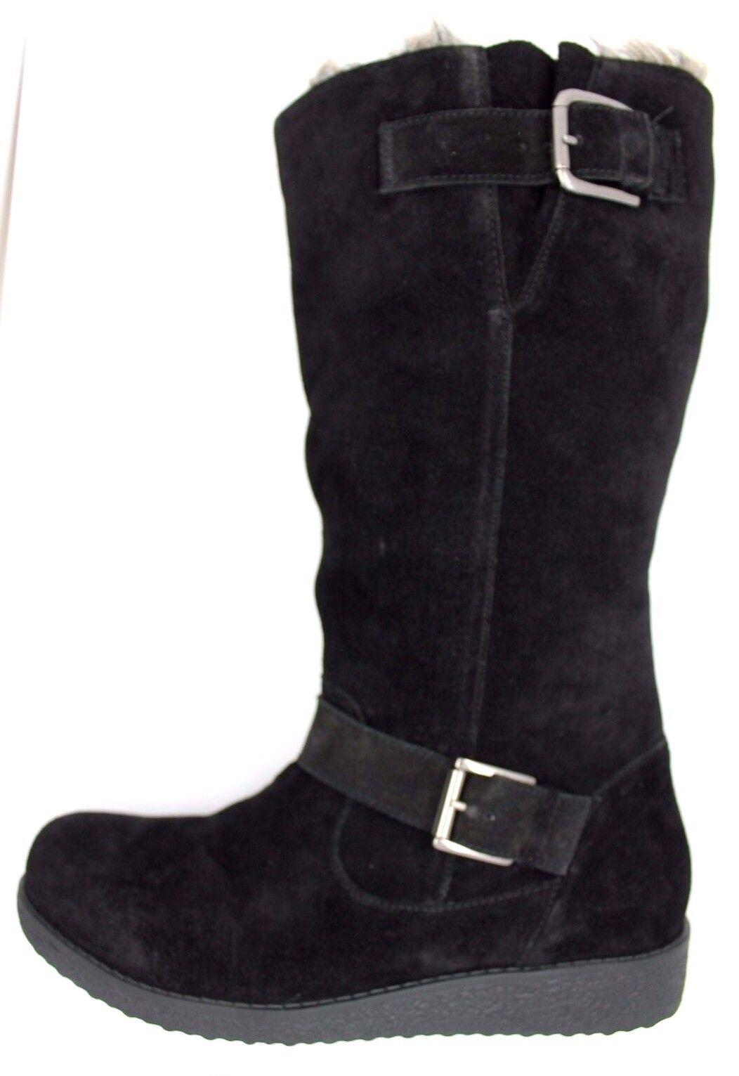 Heavenly suelas para mujer UK 5 Mitad EU 38 Negro Gamuza Piel Forrada Mitad 5 de Pantorrilla botas De Invierno Nuevo 4746c0