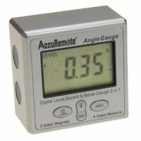 Digital Angle Cube W/back Light Gage Electronic Gauge Protractor Magnetic Base on sale