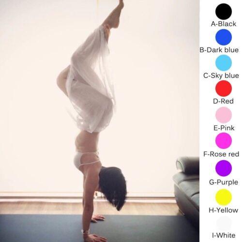 Slit Harem Yoga Pant Belly Dance Tribal Dancer Costume Yoga New Pant Trousers