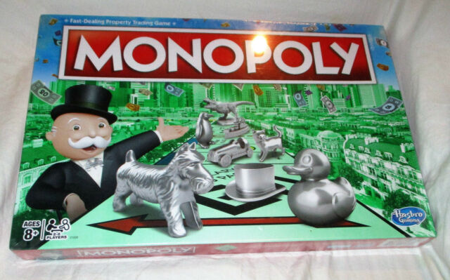 Hasbro Gaming Monopoly Game 2017 Edition NEW