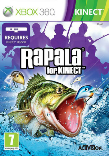 1 of 1 - Rapala Fishing for Kinect ~ XBox 360 (in Good Condition)