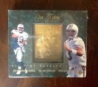 Dan Marino All Time Passing Leader Upper Deck Gold Trading Card Miami Dolphins