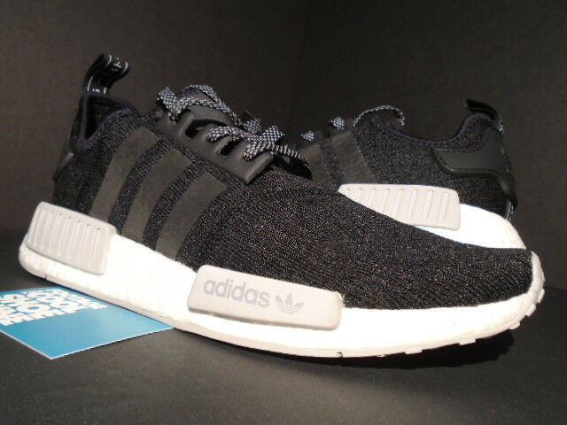 7512d7812 adidas NMD R1 Champs Sports Core Black Reflective Grey White Yeezy 350  Cq0759 9 for sale online