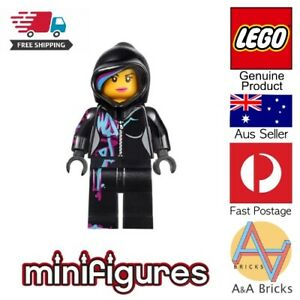 Genuine-LEGO-Minifigure-Wyldstyle-with-Hood-LEGO-MOVIE-Free-Shipping