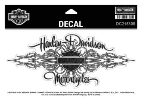 Harley-Davidson Signature Glitter Decal Size XL 8.125 x 3.625 inches DC215805
