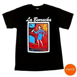 la borracha loteria t shirt mexican bingo el borracho his hers