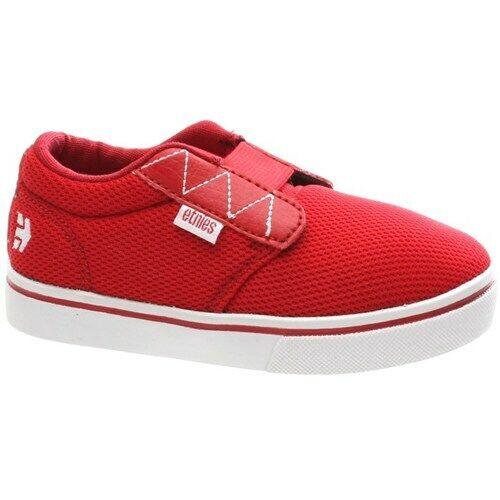 Etnies Boy/'s Jameson 2 Toddler Red Shoe
