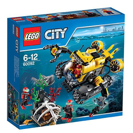 LEGO City Tiefsee-U-Stiefel (60092) - NEU - OVP