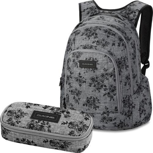 DAKINE SET Laptop Rucksack Schulrucksack FRANKIE 26L SCHOOL CASE Mäppchen Etui
