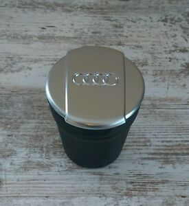 Original-Audi-Aschenbecher-fuer-A3-A4-A5-A6-A7-A8-und-Q2-Q3-Q5-Q7-NEU