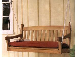Devon Grade-A Teak Wood 4 Feet Swing Chair Bench Outdoor Garden Furniture New