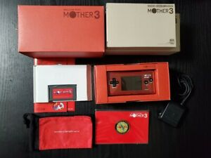 Nintendo-GameBoy-Micro-Console-Mother-3-DELUXE-BOX-Limited-Edition-Game-Boy-JP