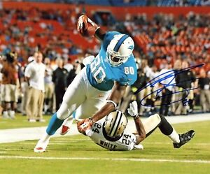 DION-SIMS-MIAMI-DOLPHINS-SIGNED-AUTOGRAPHED-8X10-PHOTO-W-COA