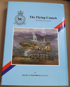 The-Flying-Camels-History-of-No-45-Sqn-RAF-by-C-G-Jefford-NEW-HB-DJ