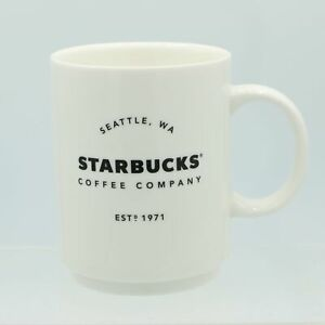 Est 1971 Seattle WA Starbucks Coffee Mug Cup 2018 14 Oz.