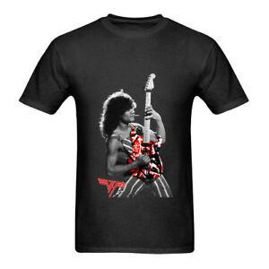 bb252de2b Eddie Van Halen Design Tee Tshirt Black New Men's T-Shirt Size S to ...
