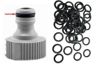 O-Ringe Dichtungen passend für alle 1//2 Zoll Schlauchsysteme z.B.Gardena etc.