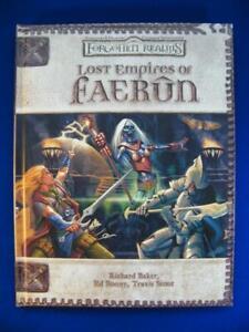 Lost Empires Of Faerun - Forgotten Realms - D&D 3e D20 - WOTC