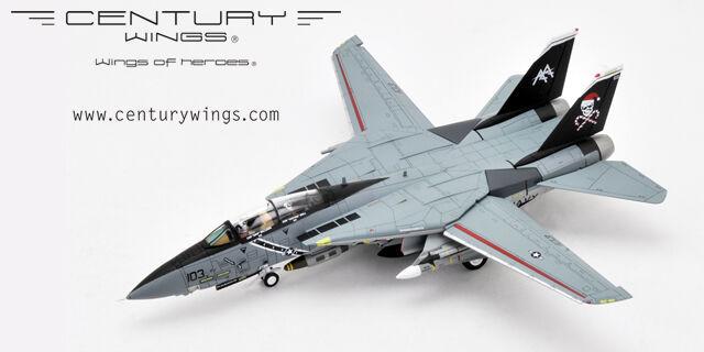 CENTURY Wings 1/72 F-14B TOMCAT US Navy In perfatta condizione-103 JOLLY ROGERS  SANTA Cat  Nuovo di zecca con scatola