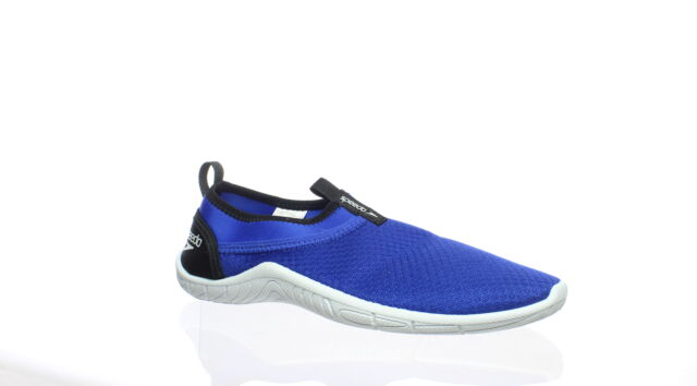 Speedo Mens Royal Blue Water Shoes Size