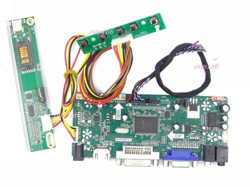 """HDMI+DVI+VGA Controller board plate Kit diy for LTL106AL01 1366X768 panel 10.6/"""""""