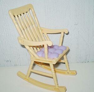 Magasiner Pour Pas Cher Chaise A Bascule Rocking Chair Pour Poupee Barbie Divers Styles