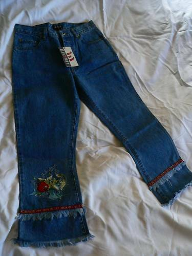 LIBERTO PANTACOURT JEANS BRENDA DENIM POISSON 27 (36)