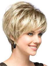 MEGAN Noriko Perücke Damenmode Perücke Natural Light Blond Kurz -Haar-Perücken