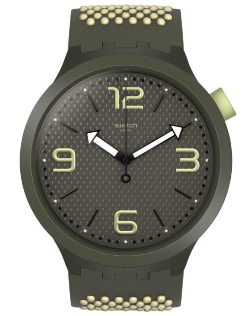 Swatch Big Bold Reloj de Pulsera Bbblanco SO27M102