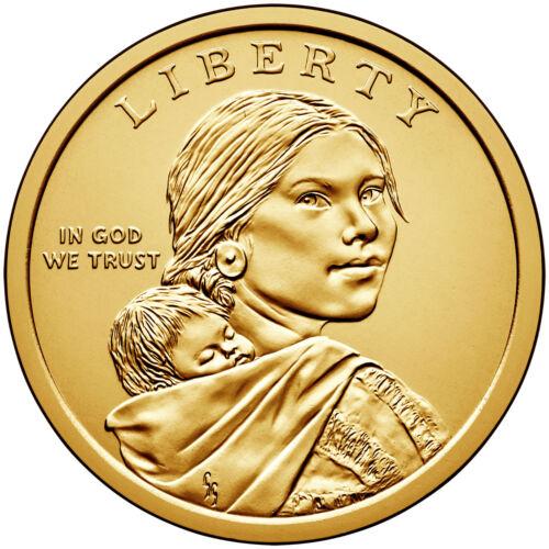 2014-P BU Native American Sacqgawea Dollar