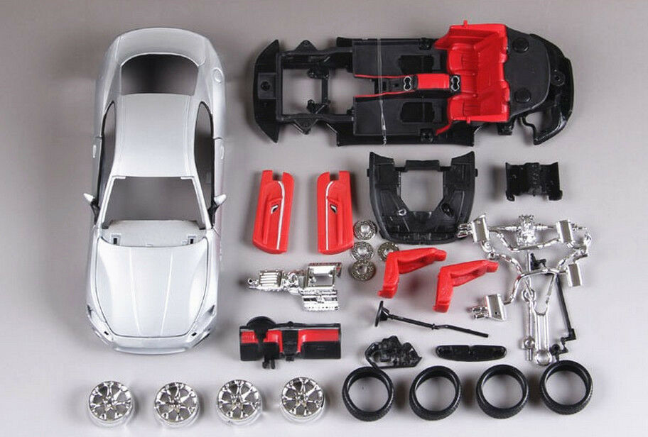 Bburago 1 24 Maserati GT Diecast Assembly Assembly Assembly KIT Model Car Vehicle Toy dde546