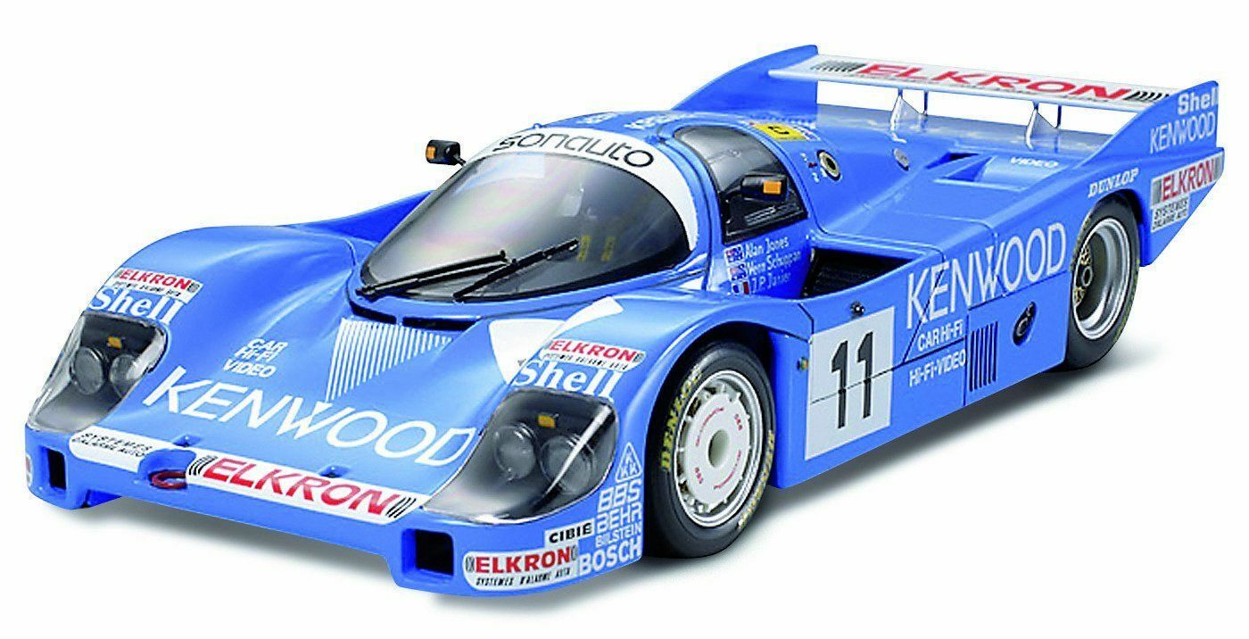 1 24 Sports Car Series No.314 1 24 Porsche 956 Kenwood color 1984 Le Mans 24314