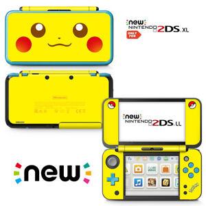 Ci yu online new 2ds xl pokemon pikachu yellow vinyl skin sticker image is loading ci yu online new 2ds xl pokemon pikachu publicscrutiny Images