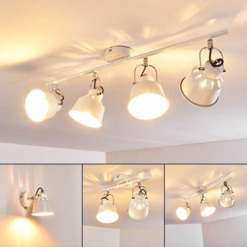 Wohn Schlaf Zimmer Beleuchtung Vintage Decken Wand Leuchten Flur Strahler weiß