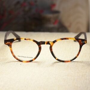50f81ecb7b2a6 Image is loading Retro-womens-acetate-Eyeglasses-frame-cats-eye-tortoise-