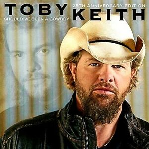 TOBY-KEITH-034-SHOULD-039-VE-BEEN-A-COWBOY-034-BRAND-NEW-STILL-SEALED-MINT