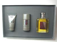 Jacques Fath Set For Men 3 Pcs (4.16 Edt Spray + 2.6 Deodorant S. + 1.7 Shampoo)
