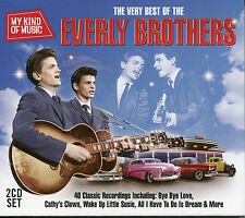 MY KIND OF MUSIC THE VERY BEST OF THE EVERLY BROTHERS - 2 CD BOX SET