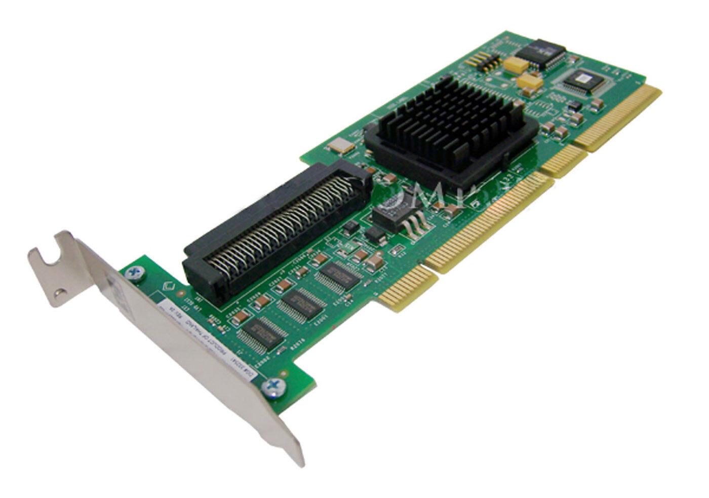 HP LSi U320 SCSI Low Profile PCI-x 1-Chn Controller NEW Adapter Card LSI20320LP-