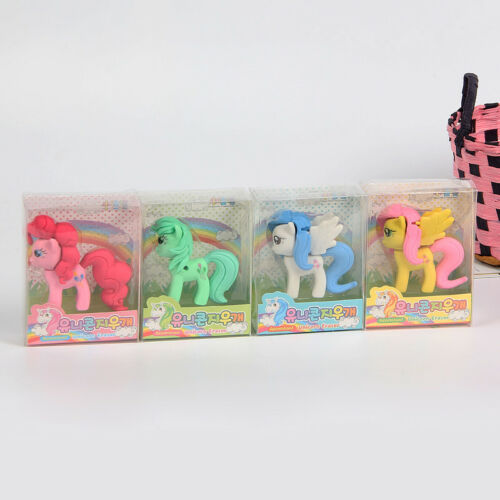3D Radiergummis Radierer Schule Geschenk Witzig Set Mitgebsel Kinder Lustig Tier