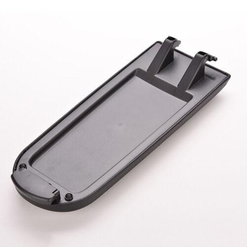 Deckel Abdeckung LEDER Schwarz für Original Armlehne neu SEAT IBIZA  2008–17