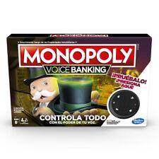 Monopoly Voice Banking - Juego de mesa - 8 AÑOS+