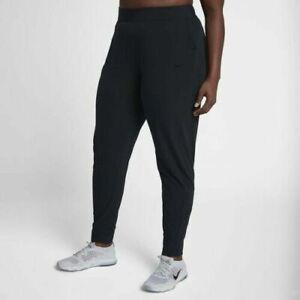 Details about Nike Women's Trouser Flex Bliss Lux Training Pants AA8295 010 Plus Size Gym 3X